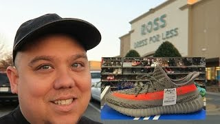 ADIDAS YEEZY 350 SNEAKER SHOPPING SEARCH AT ROSS FOR LESS