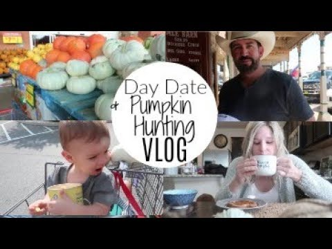 Day Date and Pumpkin Hunting | VLOG