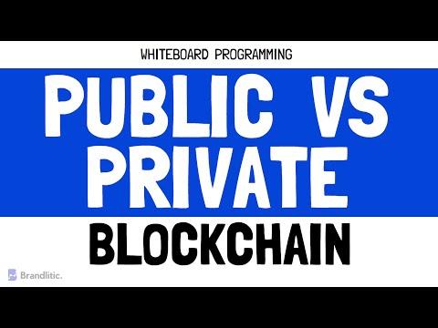 Public vs Private Blockchain   Difference Between Public and Private Blockchain