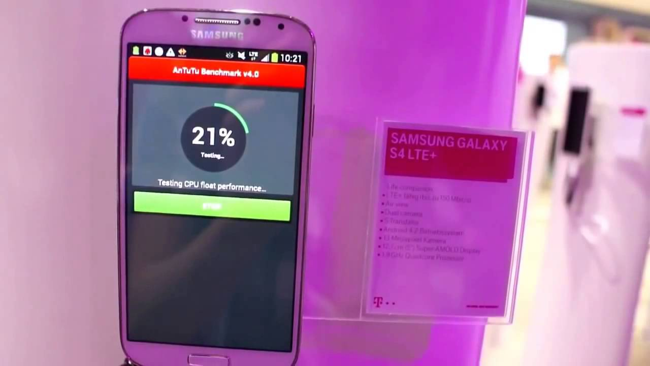 Samsung Galaxy S4 RED 16Gig Unboxing AT&T with Otterbox Defender .