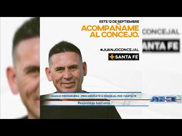 (Anticipo) Juanjo Piedrabuena - precandidato a concejal + Santa Fe - ABC1 05 09 21