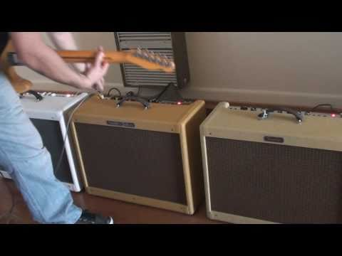 Fender Hot Rod Deluxe Amp Comparison