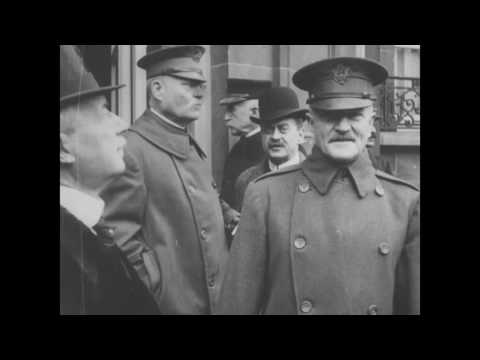 The Reception of President Woodrow Wilson on his Arrival in Paris, December 16, 1918
