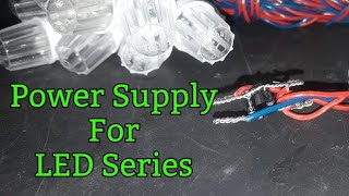 Power supply for led light series | Ac to Dc converter | BLS bhopal | Diwali led lights | Indian led
