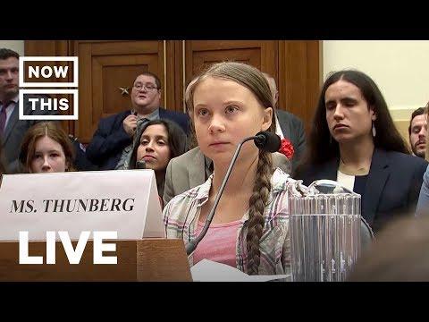Greta Thunberg Testifies Before U.S. Congress | NowThis