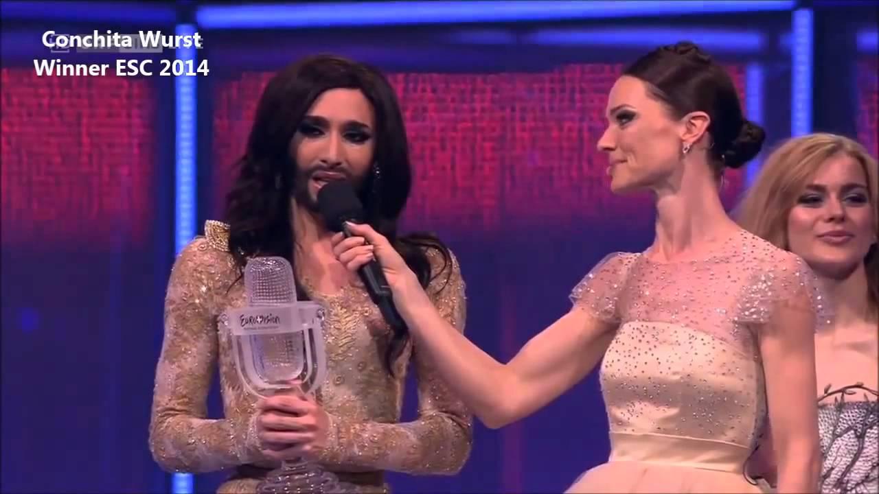 Conchita Wurst  Eurovision Song Contest 2014 discorso