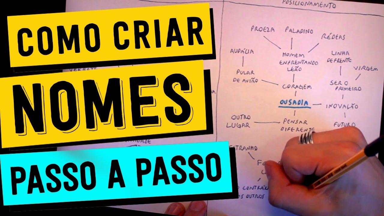 fd1db3739 COMO TER MUITAS IDEIAS DE NOME DE MARCA - PASSO A PASSO - YouTube
