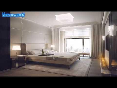 Yatak odası asma tavan modelleri 2015 - YouTube