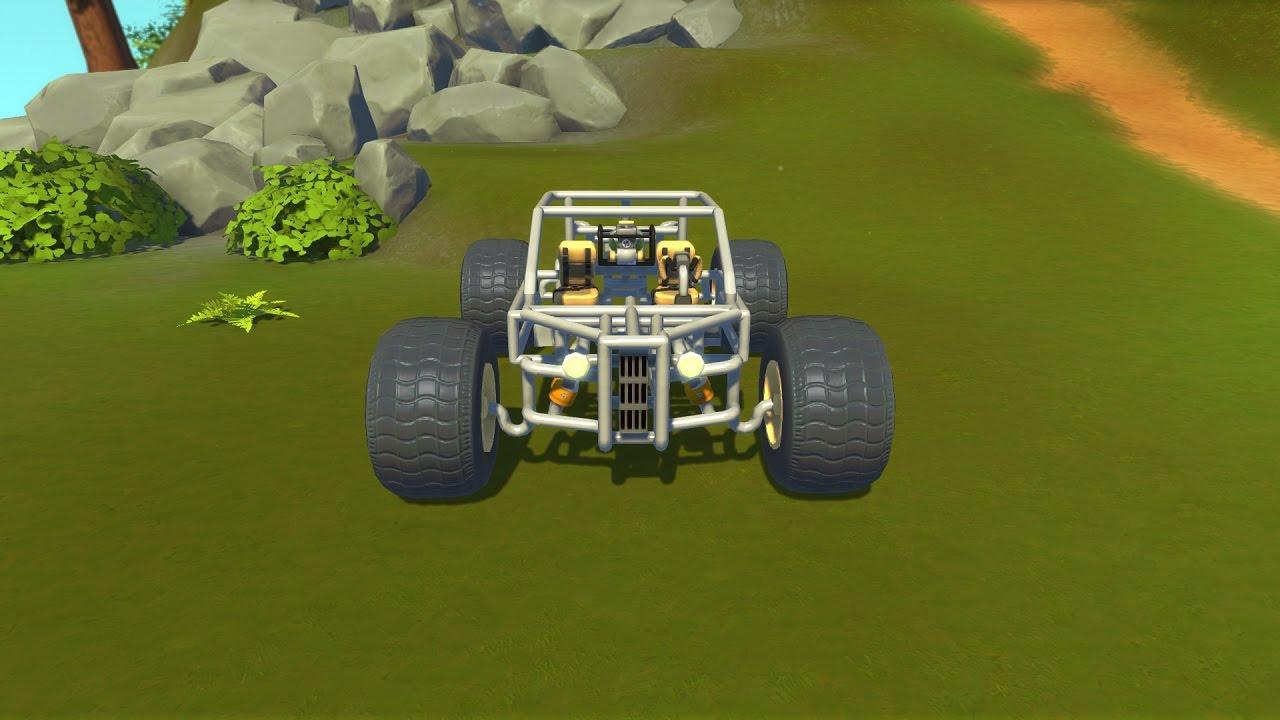 scrap mechanic off road suspension