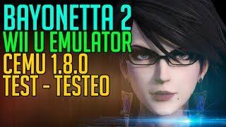 Bayonetta 2 - PC Wii U Emulator CEMU 1.8.0 60FPS [Test / Testeo] Video