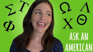 Ask An American: University Sororities & Fraternities