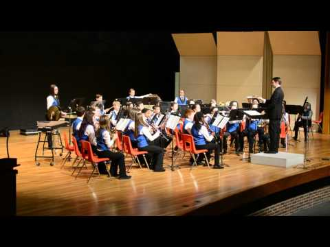Warren Woods Middle School Cadet Band - High Falls Overture