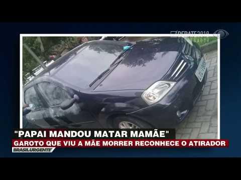 Menino reconhece assassino da mãe no RJ