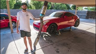 THE PERFECT 350z EXHAUST...The Chase Continues