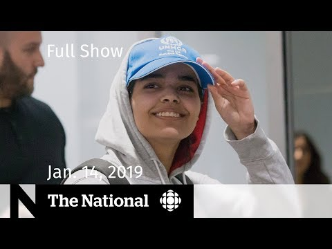 The National for January 14, 2019 — Saudi Teen Interview, New Cabinet, Brexit Vote Eve