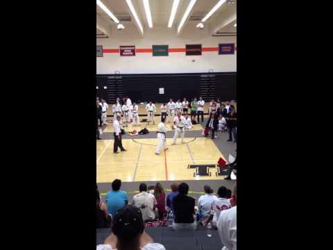 Ika Karate Tournament 2013 - Steve Ledez