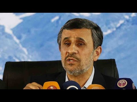 Ex-Iranian President Ahmadinejad registers for presidential election