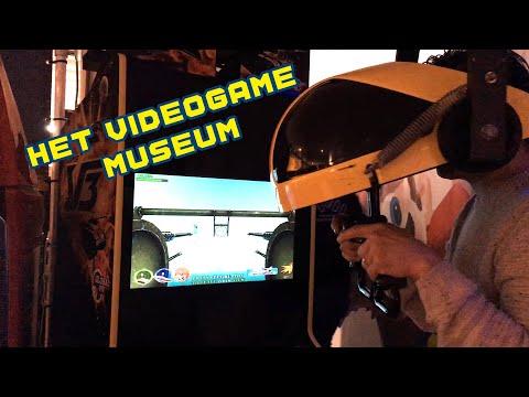 Het Videogame Museum In Zoetermeer! Ik Bezoek Het.