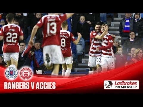 Accies win at Ibrox for first time in 91 years