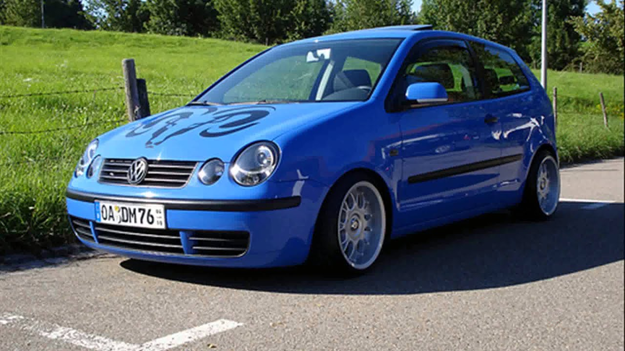 vw polo 9n tuning cars - YouTube