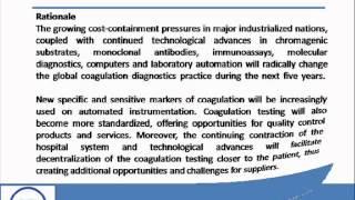 Bharat Book Presents : Global Coagulation Testing Market 2013