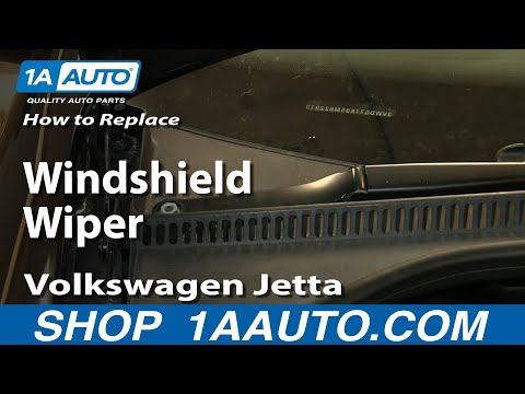 How to Replace Windshield Wiper Arm 99-11 Volkswagen Jetta