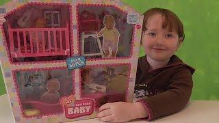 Распаковка пупсов с мебелью и аксессуарами Simba Mini NEW Born BABY