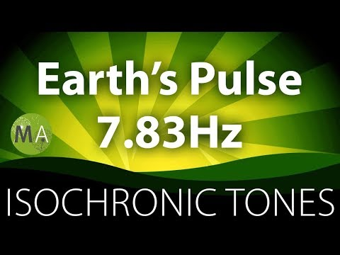 Earth's Pulse 7.83Hz Schumann Resonance - Pure Isochronic Tones