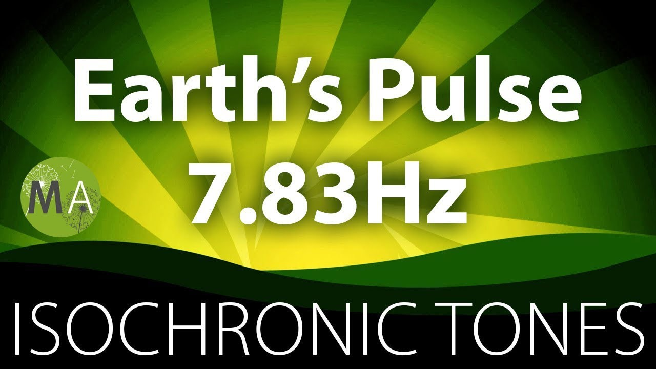 Heres Brainwave Magnetic Pulses Could >> Earth S Pulse 7 83hz Schumann Resonance Pure Isochronic Tones