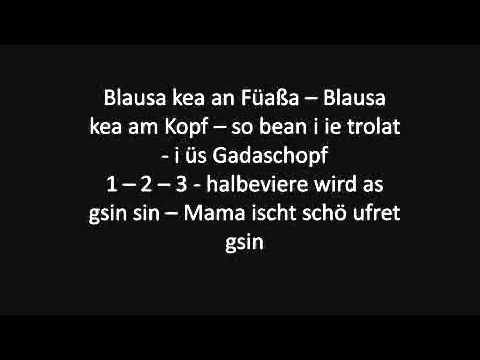 Vo Mello bis ge Schoppernou   Lyrics