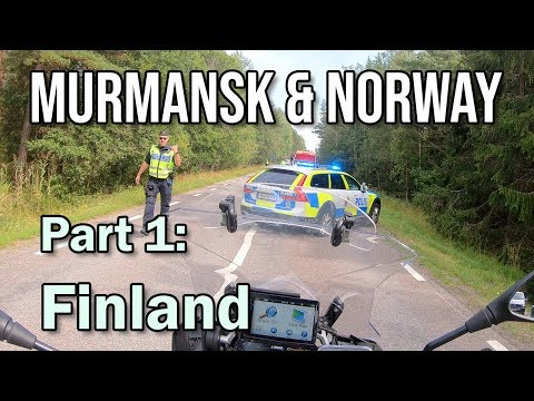 Murmansk & Norway on BMW R1250 GSA: Part 1 - Finland