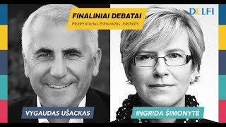 Finaliniai Tėvynės sąjungos prezidentiniai debatai