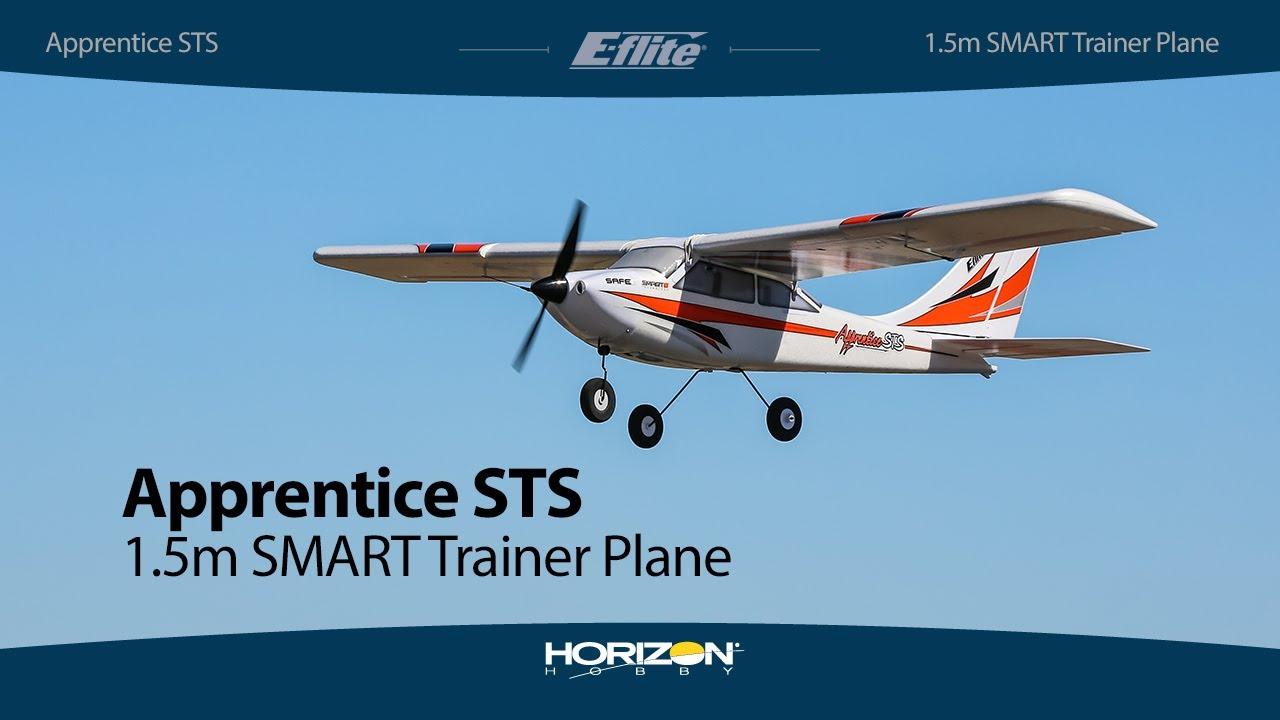 E-flite Apprentice STS 1 5m Smart Trainer with SAFE - BNF Basic & RTF