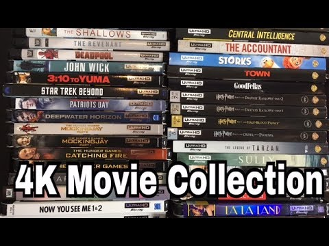 ENTIRE 4K Blu-ray Movie Collection