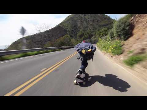 Joey Exton Hits Malibu