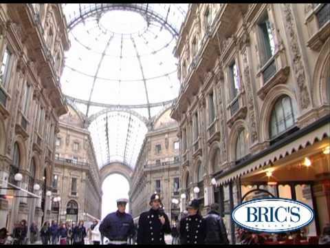 Bric's Flagship Store in Milan - Galleria Vittorio Emanuele