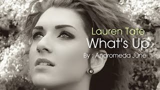เพลงสากลแปลไทย #65# What's Up - 4 Non Blondes Cover - Lauren Tate (Lyrics & ThaiSub)