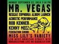 """Mr. Vegas """"Reggae Euphoria"""" Album Launch LIVE STREAM"""