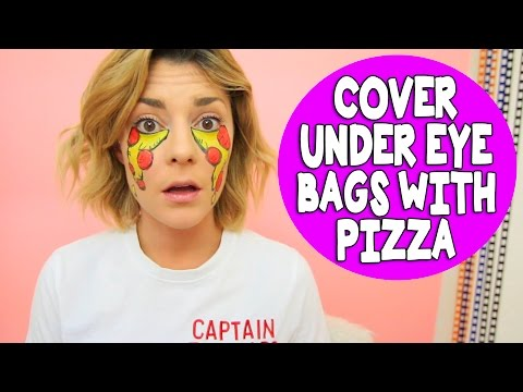 HOW TO DISGUISE UNDER EYE BAGS // Grace Helbig