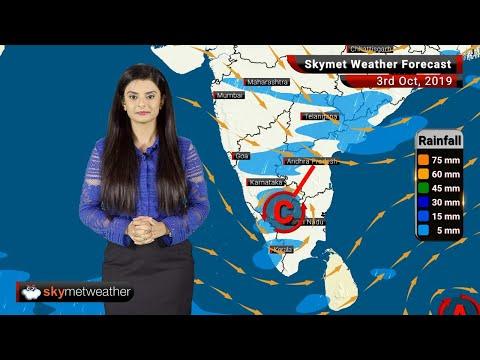 Weather Forecast Oct 3: Temperature In Delhi To Rise, Moderate Rain Likely In Patna, Gaya, Bengaluru