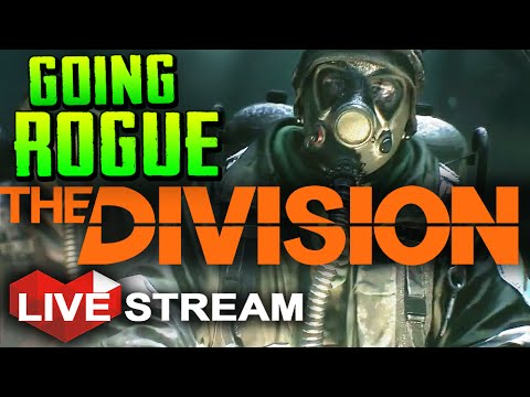 The Division Gameplay | Dark Zone Manhunt & Rogue Player Killing | Multiplayer Live Stream