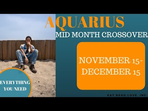 "AQUARIUS - ""YOU COULDN'T ASK FOR ANYTHING MORE"" NOVEMBER 2019 CROSSOVER TAROT READING"