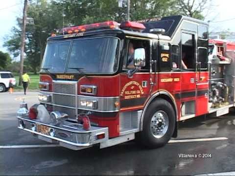 Roseland,nj Fire Department Squad 662 Wetdown