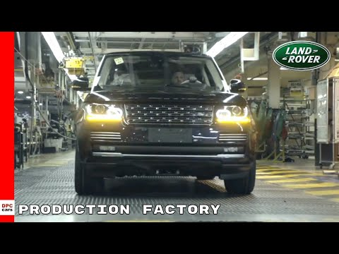 Range Rover Sport Production Factory