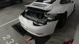Engine Air Filter Change Replacement - Porsche 991 911 2012+