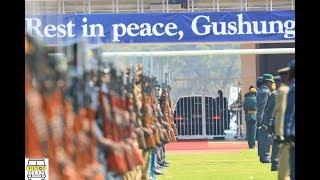 21 gun salute for Robert Mugabe