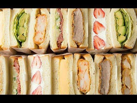 おもしろ雑学耳無しサンドイッチは日本だけらしく・・・サンドイッチ発祥の地イギリスのサンドイッチとは日本のサンドイッチのレベルの高さが分かるかも