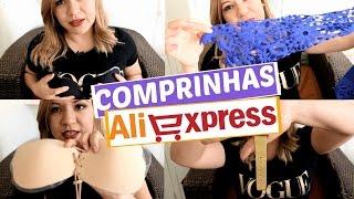 COMPRINHAS NO ALIEXPRESS - {Parte 7} Sutiã Adesivo / Relógio / Blusas ...