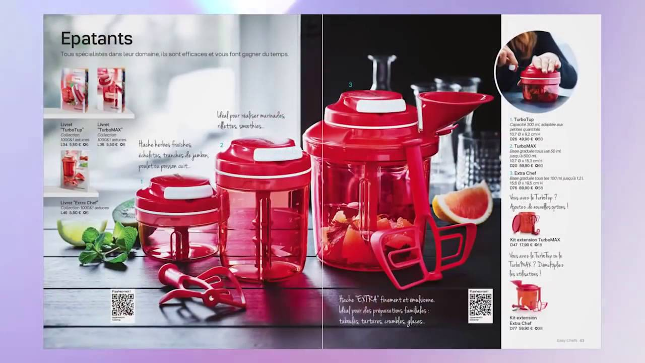 catalogue automne hiver 2016 2017 tupperware youtube. Black Bedroom Furniture Sets. Home Design Ideas