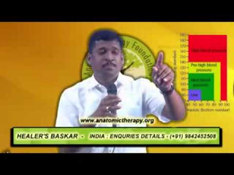 How to cure Blood Pressure naturally Healer Baskar YouTube